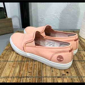 Timberland women's slip on shoes